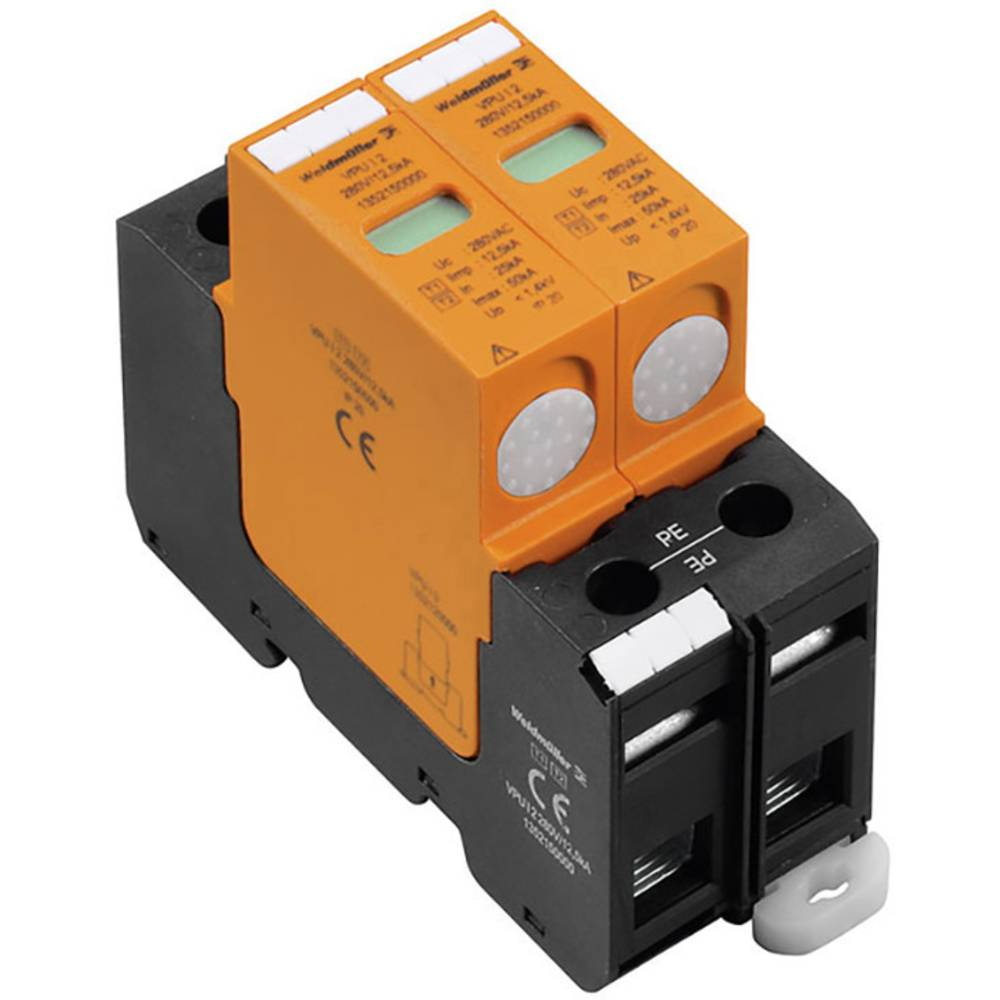 Zaštita od prenapona za razvodni ormar VPU II 2W+N 120/240V 2025980000 Weidmüller 20 kA