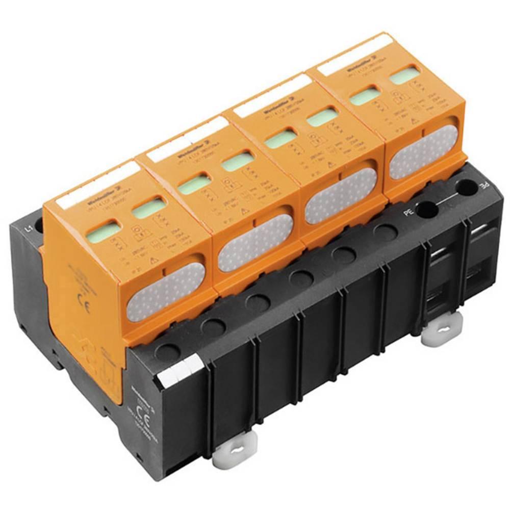 Prenapetostna zaščita za razdelilno omarico za: razdelilno omaro Weidmüller VPU I 4 280V/25KA 2062960000 25 kA