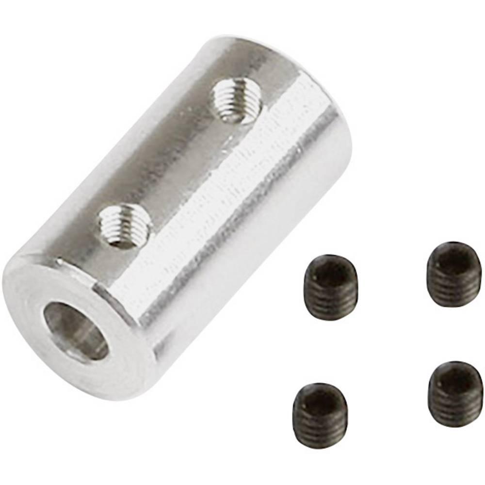 Graupner (SZ1018.10) aluminijasta sklopka 4,0 / 4,0mm