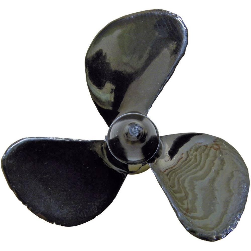 3 rezila Ladijski vijak Desno Plastika Graupner 40 mm Naklon: 21 mm M4