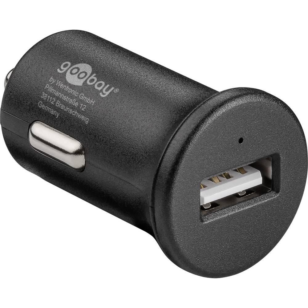 Goobay Quick Charge 45162 USB napajalnik Osebno vozilo Izhodni tok maks. 2.4 A 1 x Ženski konektor USB 2.0 tipa A Qualcomm Quick