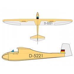 Pichler Grunau Baby (Antik) RC model jadralnega letala arf 2500 mm
