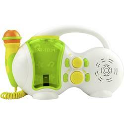 Karaoke-anläggning X4 Tech Bobby Joey USB Vit, Grön