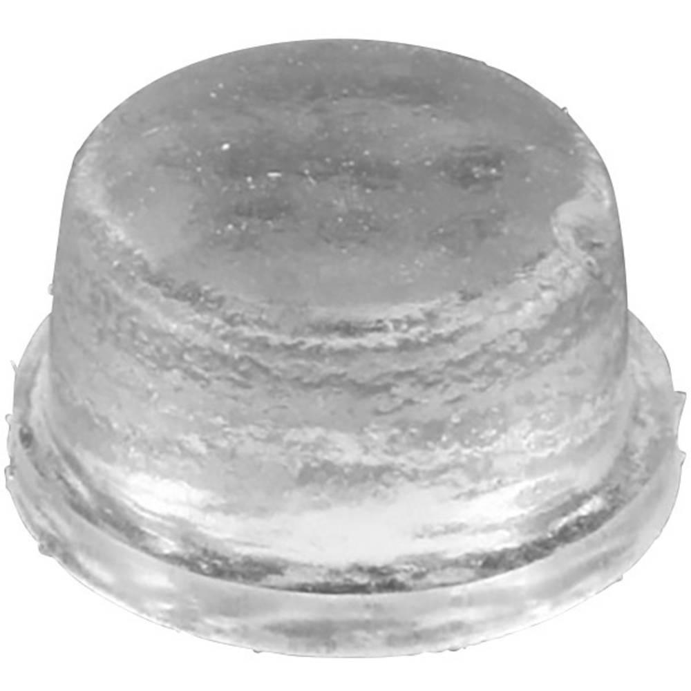 Nogica za naprave Protizdrsno, Samolepilno, Okroglo Transparentna (Ø x V) 9.5 mm x 3.2 mm 1 KOS