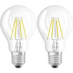 LED Glödlampsform E27 OSRAM Filament 4 W 470 lm A++ Varmvit 2 st
