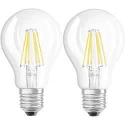 LED Glödlampsform E27 OSRAM Filament 7 W 806 lm A++ Varmvit 2 st