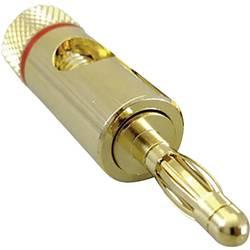 Lamelni utikač, crvene boje TRU Components 1 kom.