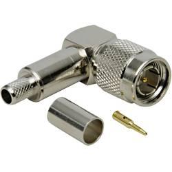 TNC-utični konektor, utikač, kutni 50 Ω TRU Components 1 kom.