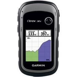 Garmin eTrex 30x Outdoor Navi Geocaching, Cykler, Båd Vesteuropa GPS, GLONASS, Stænkvandsbeskyttet