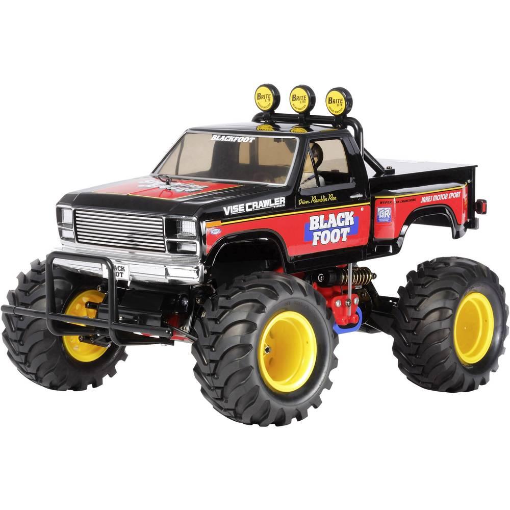 Tamiya Blackfoot s ščetkami 1:10 RC Modeli avtomobilov Elektro Monster Truck Zadnji pogon (2WD) Komplet za sestavljanje
