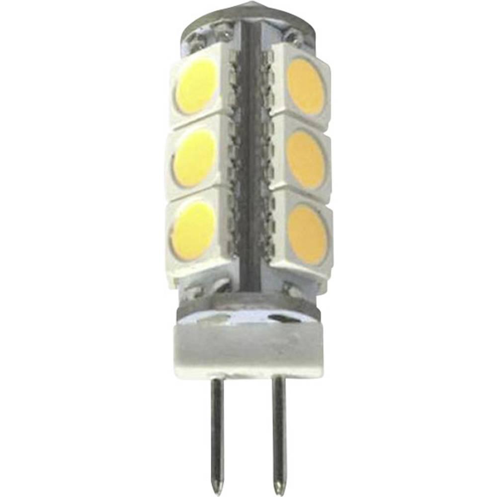 LED žarnica G4 oblika svinčnika 1.5 W = 15 W topla bela (premer x D) 11 mm x 34 mm EEK: A++ Sygonix 1 kos