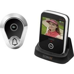 Video-porttelefon Trådlös Komplett-set Technaxx 4648 Svart