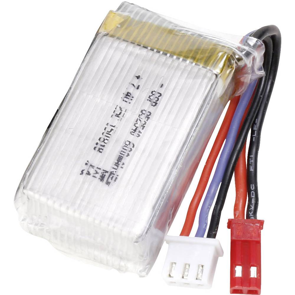 Modelarstvo - akumulatorski paket (LiPo) 7.4 V 600 mAh 25 C Conrad energy BEC