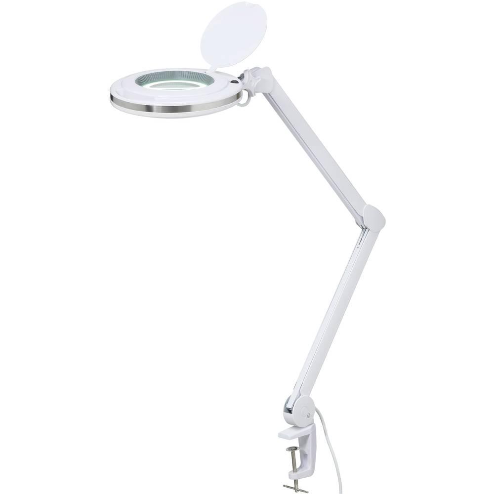 LED svetilka z lupo 5, s prijemalnim držalom TOOLCRAFT 1526045 delovni radij: 127 mm