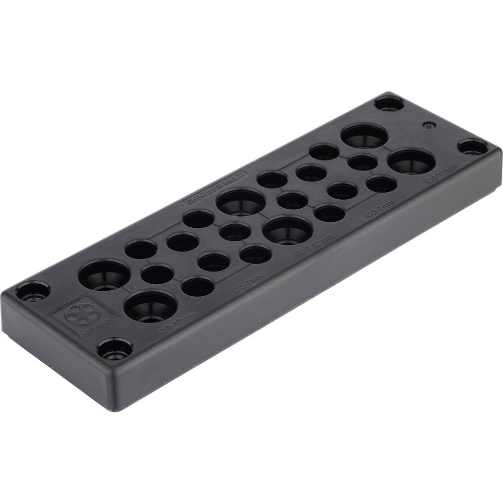 Kabelska uvodna ploča, promjer stezaljke (maks.) 16 mm polikarbonat LappKabel 52220065 1 kom.
