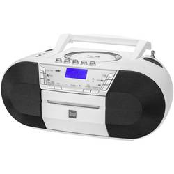 DAB+ CD radio Dual DAB-P 200 DAB+, UKV, USB, AUX, CD, kasete, bele barve