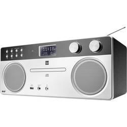 DAB+ CD-radio Dual DAB 555 Silver