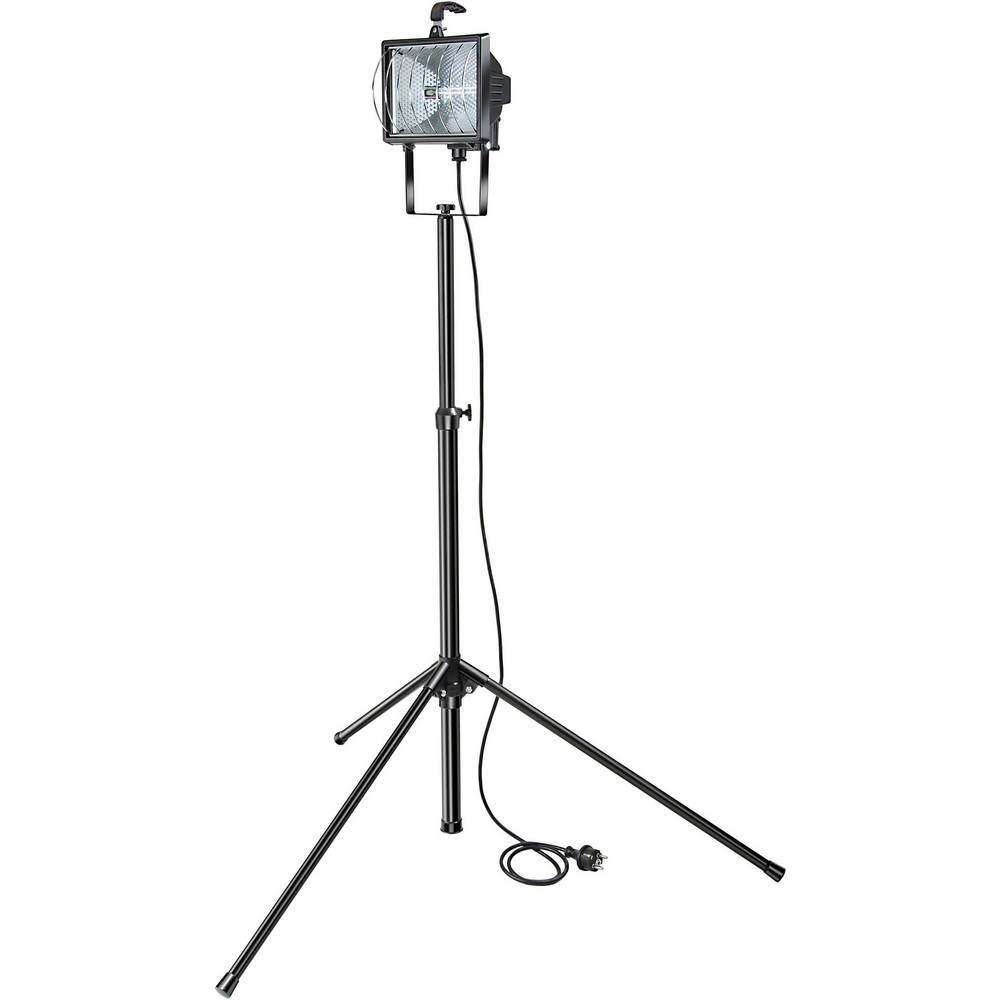 Brennenstuhl gradbeno stojalo za reflektor - set H 500 1170770 črno R7s