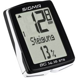 brezžični kolesarski računalnik Sigma BC 14.16 ALTI STS kodirano oddajanje s kolesnim senzorjem
