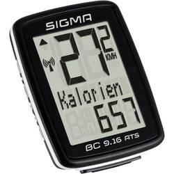brezžični kolesarski računalnik Sigma BC 9.16 ATS kodirano oddajanje s kolesnim senzorjem