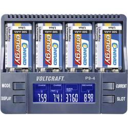 Punjač za 9V blok baterije P9-4 VOLTCRAFT NiCd, NiMH, LiIon 9 V blok