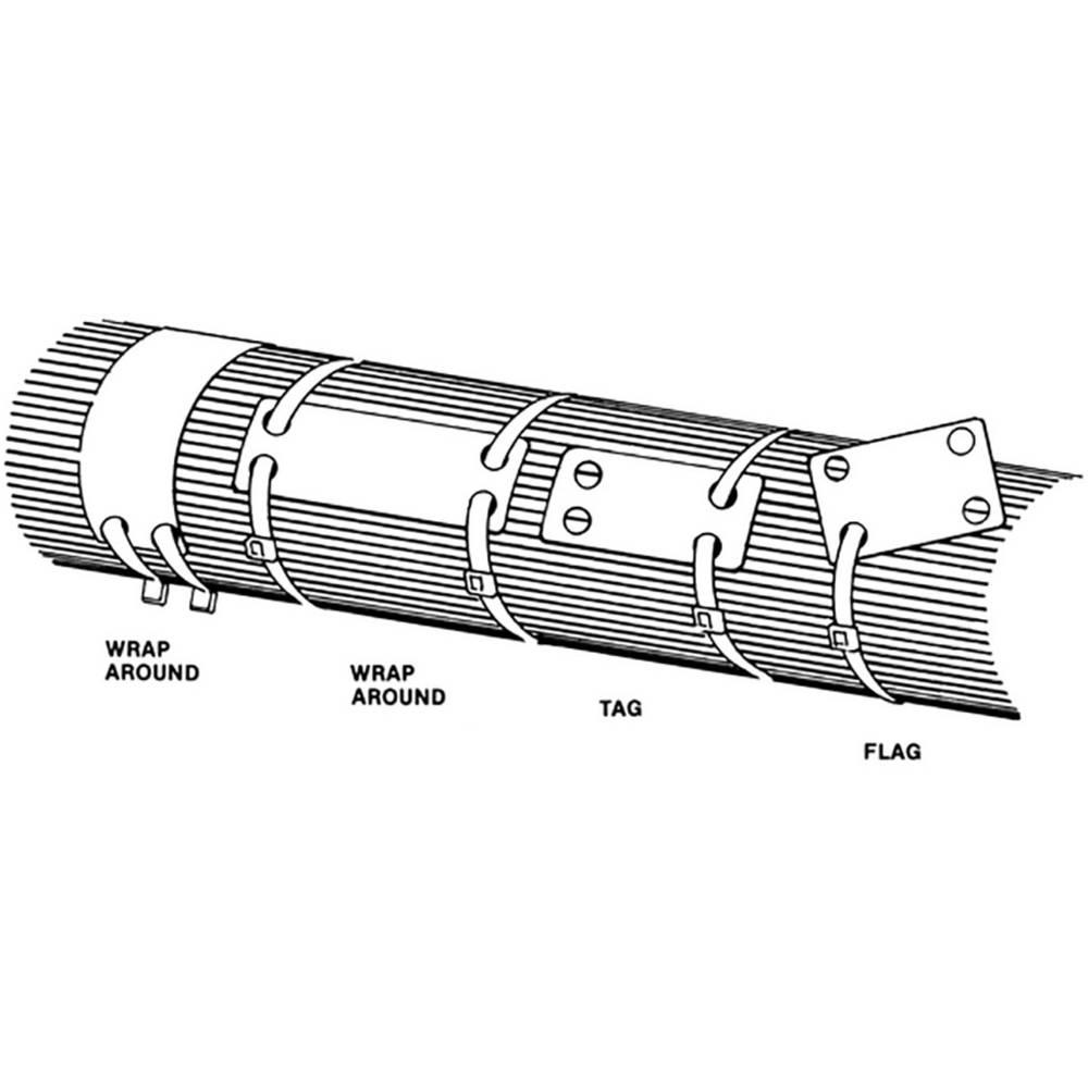 Označevalnik za kable, površina: 88.9 x 19.1 mm bele barve HellermannTyton IMP3.5 PA66 WH 100 151-42359 1 kos