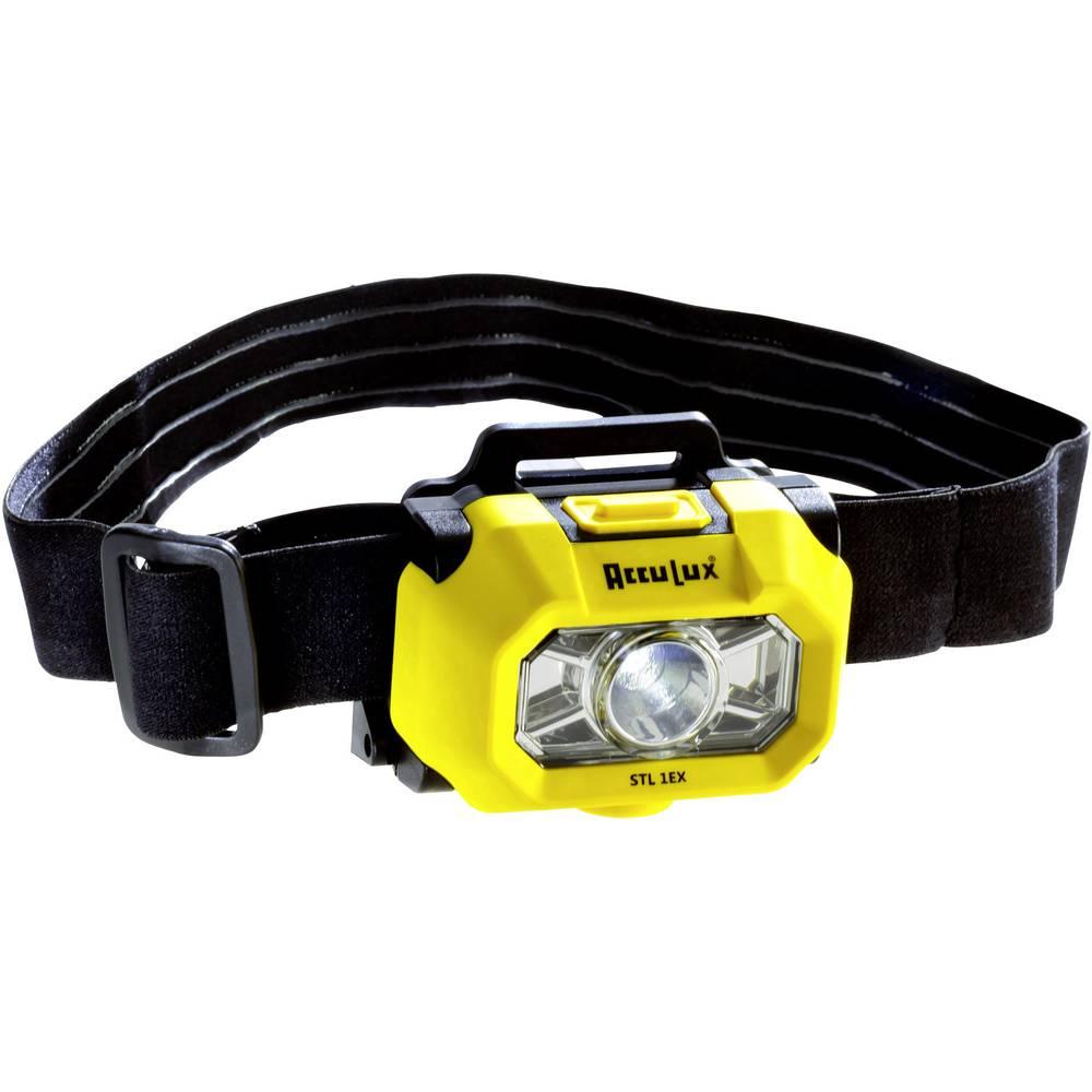 AccuLux naglavna svetilka STL 1 EX za EX-cone: 0 CREE LED DEMKO 14 ATEX 1354X DS 14 13 h rumeno-črne barve