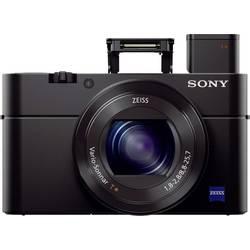 Digitalni fotoaparat Sony RX100M4 20.2 mio. pikslov optični zoom: 2.9 x, črne barve Full HD video, WiFi, vrtenje/obračanje zaslo