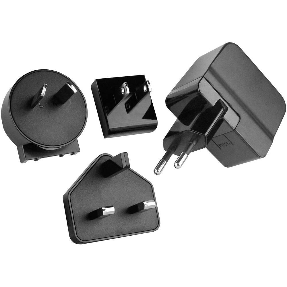 USB-oplader HN Power HNP06I-USBL6 HNP06I-USBL6 Stikdåse Udgangsstrøm max. 1500 mA 1 x USB (value.1390762) Stabiliseret
