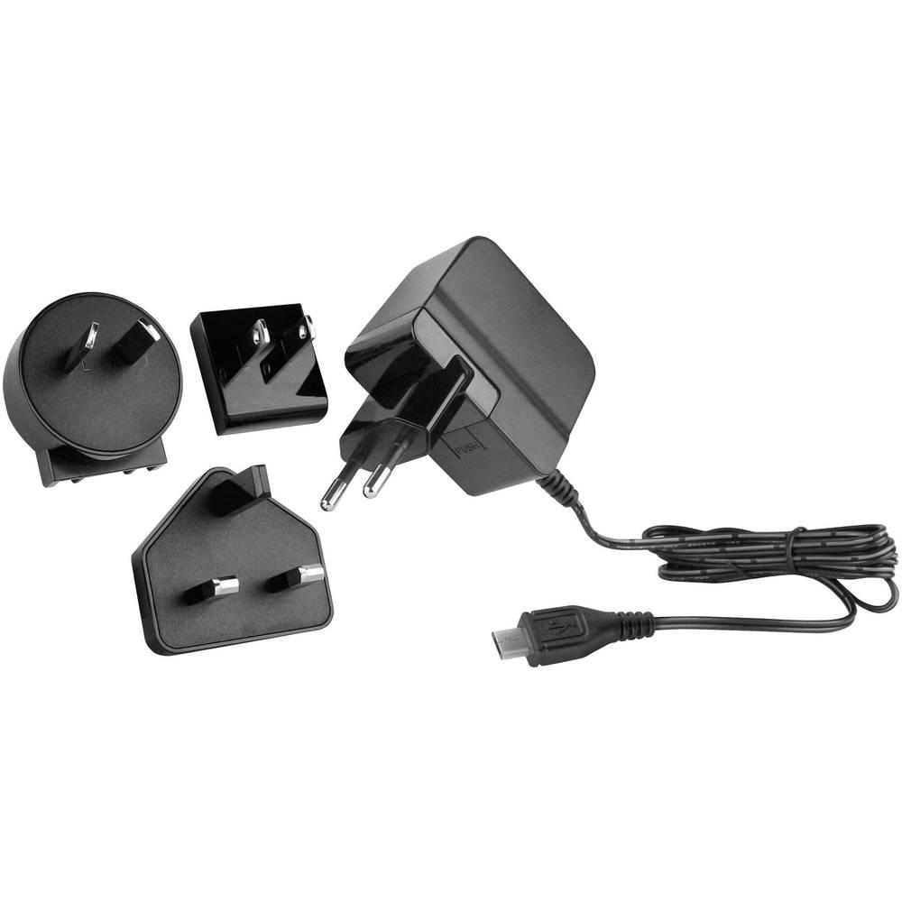 USB-oplader HN Power HNP15I-MicroUSBL6 HNP15I-MicroUSBL6 Stikdåse Udgangsstrøm max. 2500 mA 1 x Micro-USB (value.1390649) Stabil