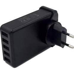 HN Power HNP40-5USB-EU HNP40-5USB-EU USB napajalnik Vtičnica Izhodni tok maks. 8000 mA 5 x USB Stabiliziran
