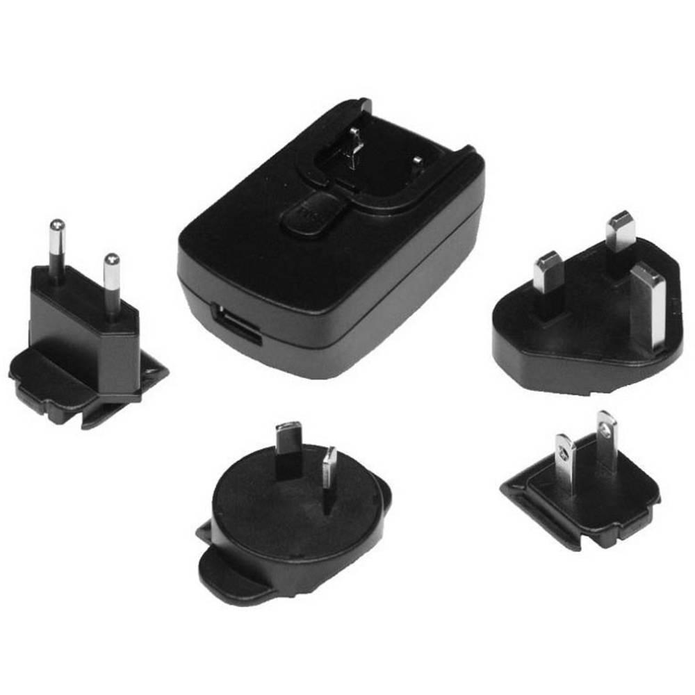 USB-oplader Phihong PSAI05R-050QL6 PSAI05R-050QL6 Stikdåse Udgangsstrøm max. 1000 mA 1 x USB (value.1390762) Stabiliseret