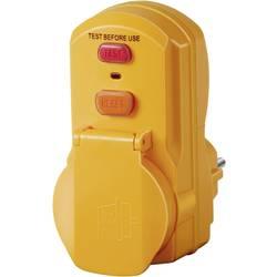 Vmesna vtičnica s PRCD Brennenstuhl 1290660 rumene barve