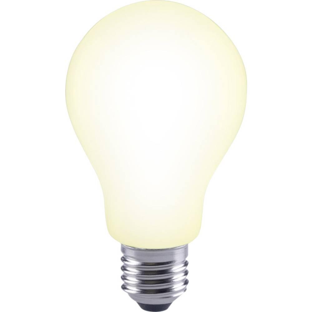 LED žarnica E27 klasična oblika 12 W = 88 W topla bela (premer x D) 67 mm x 118 mm EEK: A++ Sygonix filament 1 kos