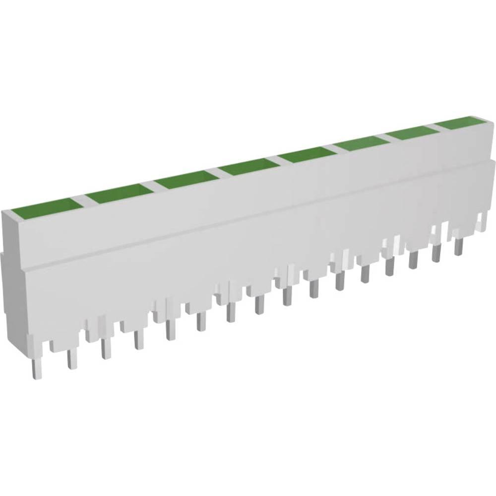 LED bånd Signal Construct ZALW 082 (L x B x H) 40.8 x 3.7 x 9 mm 8x Grøn