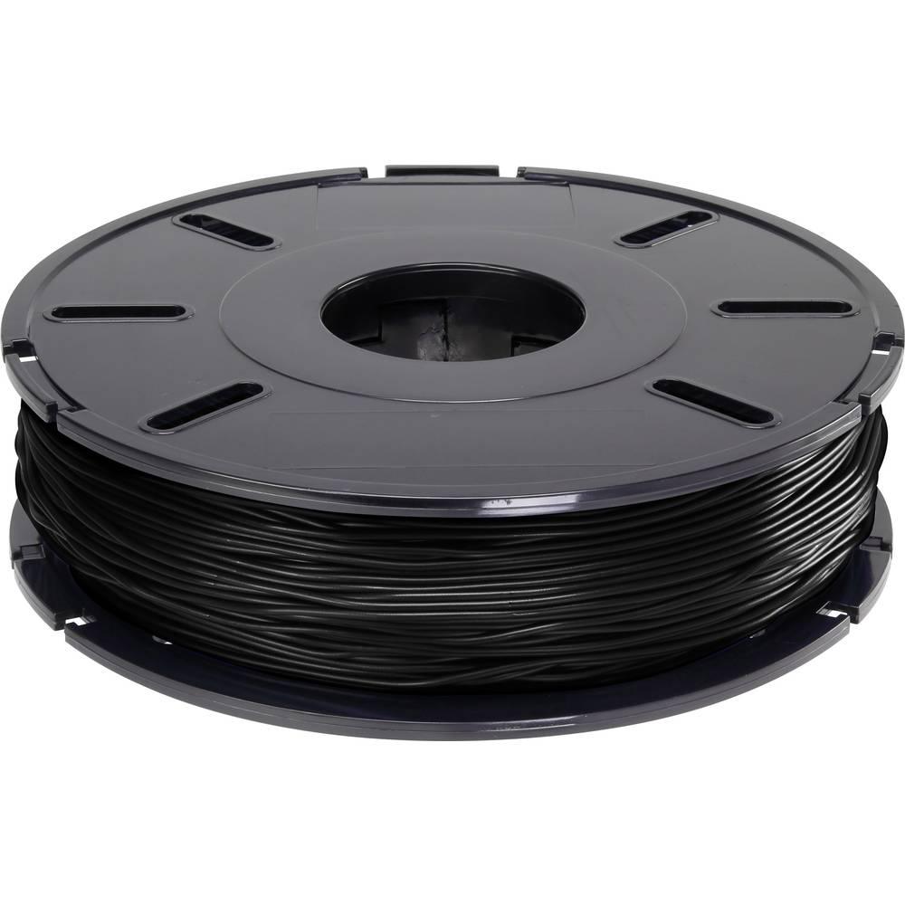 Polnilo (filament) Renkforce TPE fleksibilno 2.85 mm črne barve 500 g