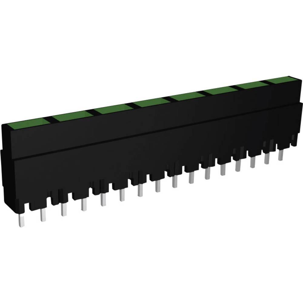 LED-Reihe (value.1317426) Signal Construct ZALS 082 (L x B x H) 40.8 x 3.7 x 9 mm 8x Grøn
