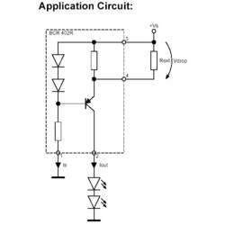 PMIC - LED gonilnik Infineon Technologies BCR402R linearni SOT-143R-4 površinska montaža