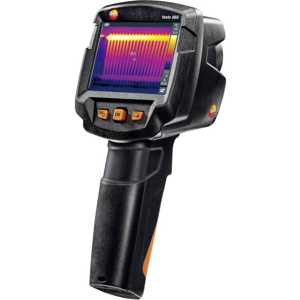 Termovizijska kamera testo 865 -20 do +280 °C 160 x 120 pikslov 9 Hz