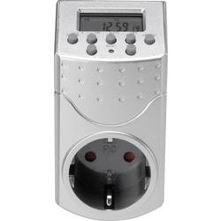 Stikalna ura za vtičnico, digitalna, tedenski program Basetech 1800 W IP20 funkcija odštevanja