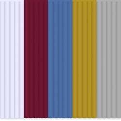 Filamentpaket 3Doodler PL-MIX4 PLA-plast 2.85 mm Vit, Röd, Blå, Guld, Silver 55 g