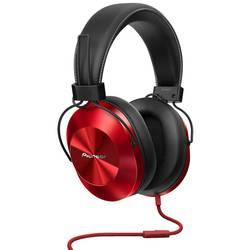 HiFi (value.1305892) Hovedtelefoner Over-ear Pioneer SE-MS5T-R kabelbundet Rød
