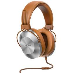 Pioneer SE-MS5T-T hifi over ear slušalke over ear naglavni komplet rjava