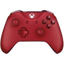 Handkontroll Microsoft Wireless Controller Xbox One, PC Röd