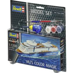Fartygsmodell byggsats Revell M/S Color Magic 65818 1:1200