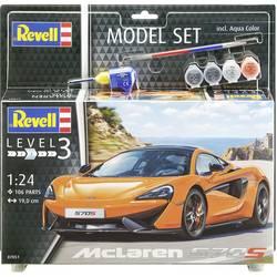 Revell 67051 McLaren 570S model avtomobila, komplet za sestavljanje 1:24