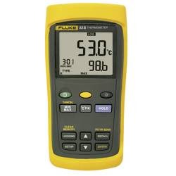 naprava za merjenje temperature Fluke 53 II B -250 do +1767 °C Vrsta senzorja j, k, t, e, r, s, n Kalibrirano: delovni standardi