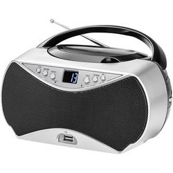FM CD-radio Dual P 396 AUX, CD, FM, USB Silver