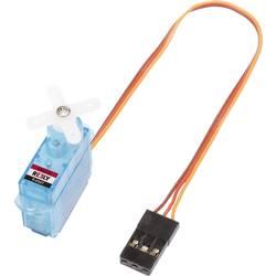 Reely Mikro-Servo S-0307 Analog-servo Transmissionsmaterial: Plast Instickssystem: JR