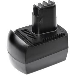 XCell 133733 električni alaT-akumulator Zamjenjuje originalnu akumul. bateriju Metabo BZ12SP, Metabo 6.02151.50 12 V 3000 mAh Ni